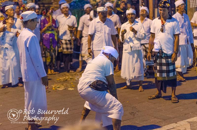 Ngerebong ceremony.
